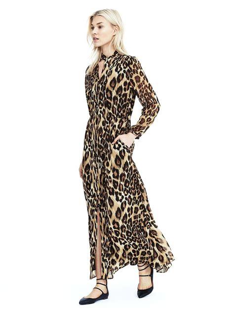 banana republic leopard maxi dress 126 my style