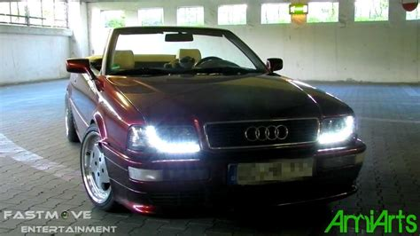 Scheinwerfer Audi 80 Cabrio by Audi 80 Cabrio Sonar Led Tfl Project Youtube