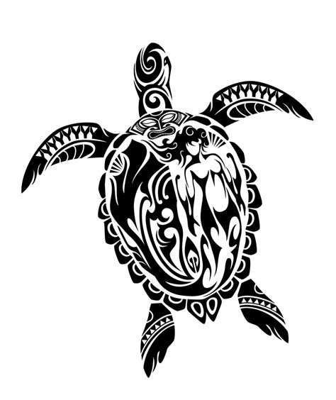 tribal turtle tattoo designs hawaiian sea turtle drawing at getdrawings free for