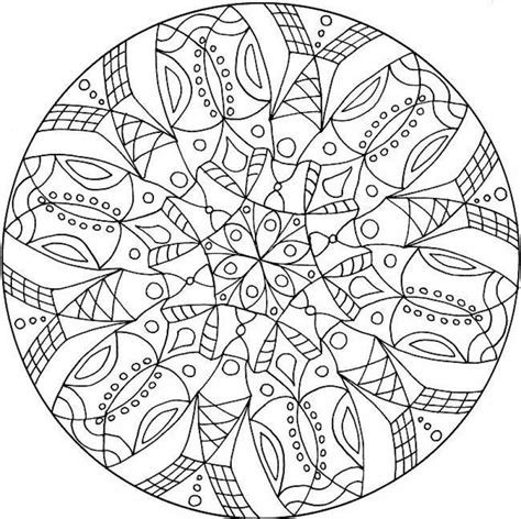 advanced mandala coloring pages printable mandalas for advanced mandala 3