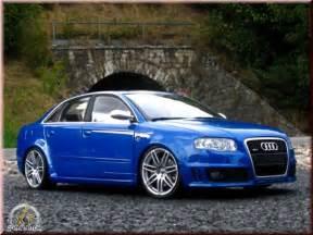 Audi R4s Audi Rs4 Blue Kit Suspension Rabaissee Minichs Diecast
