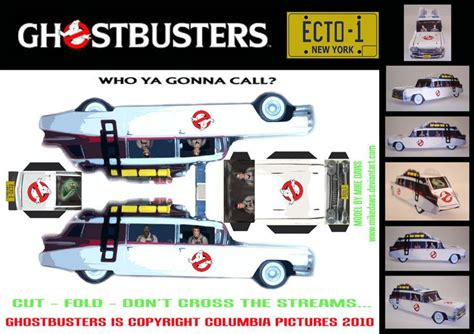 Ghostbusters Papercraft - 20 best images about car paper by jou on