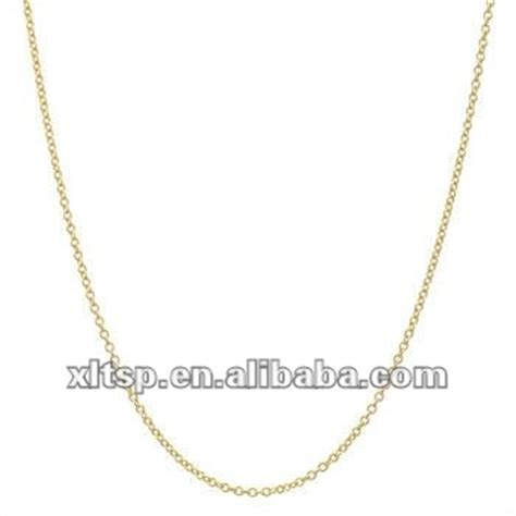 where to buy chains for jewelry tn122 simple gold chain necklace in steel or titanium