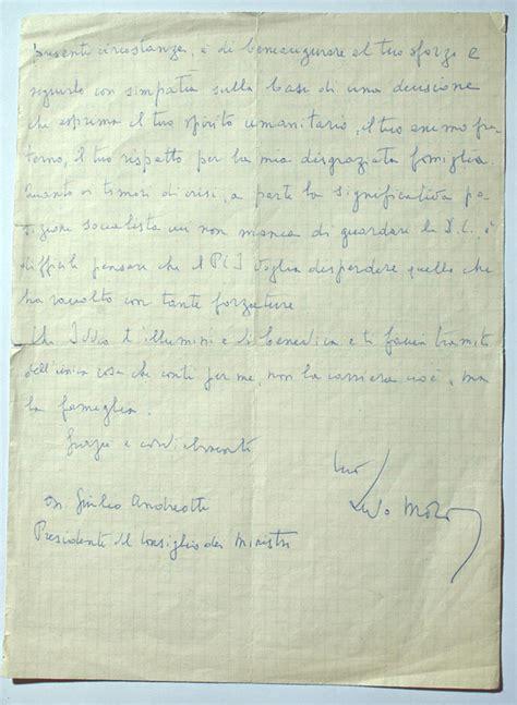 lettere di moro italia mistero giulio andreotti