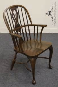 Nichols And Chair by Nichols Oak Bowback Arm Chair 705 750 Ebay