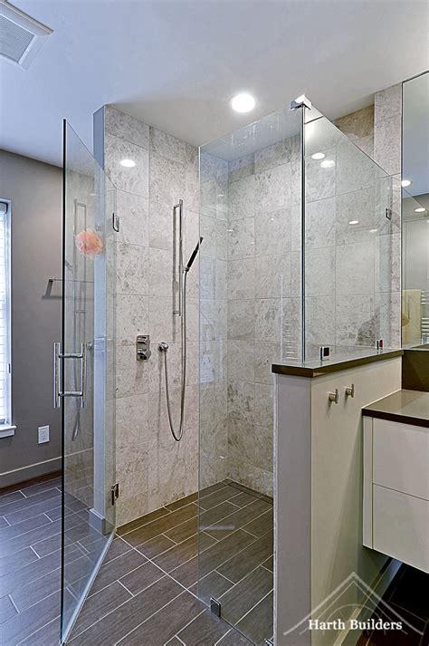 threshold bathroom phoenixville zero threshold shower harth builders