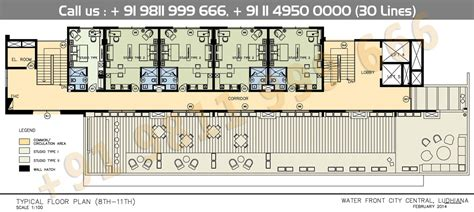 1 E 8th Ground Floor - floor plan ireo waterfront city central