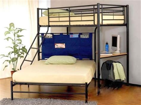 Bunk Bed With Desk And Futon 19 Cool Loft Bed With Stairs Designs