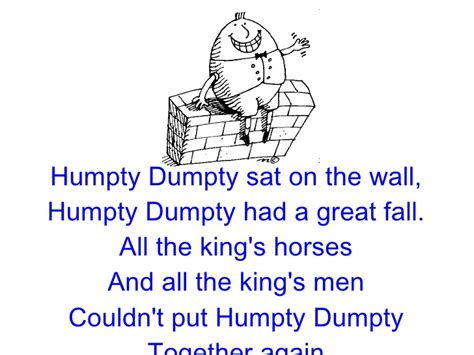 full humpty dumpty nursery rhyme p1 nursery rhymes