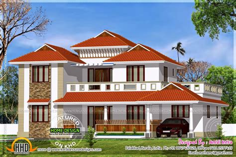 traditional home traditional home with modern elements home kerala plans