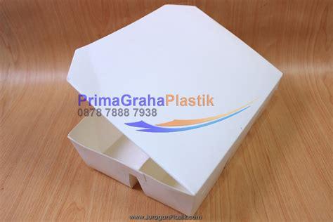 Lunch Box Kertas Sekat 4 Xl 200 Pcs Gojek Only kemasan kertas kertas quot quot box bento paper 5 sekat food grade stock ready home