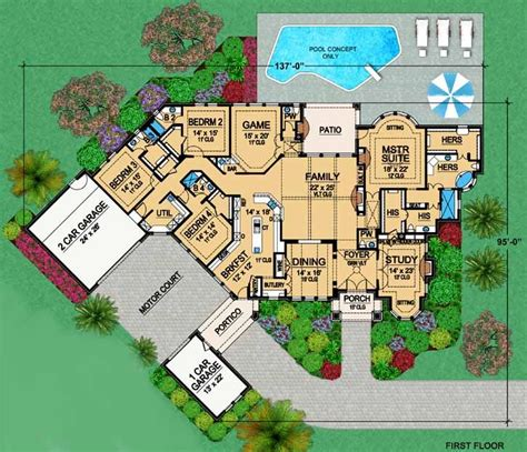 floor plans with porte cochere house floor plans with porte cochere home design and style