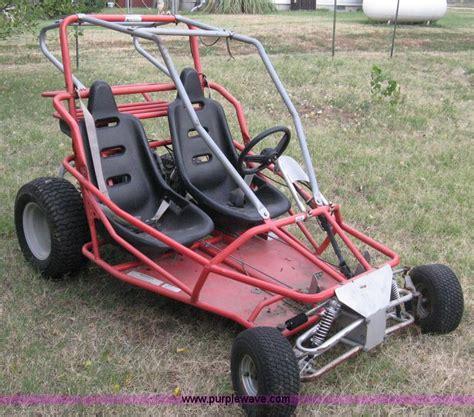 yerf go karts yerf two seat go kart item b9501 sold july 27 midwe