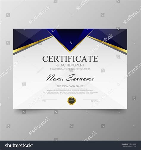 pattern background for certificate certificate template awards diploma background vector