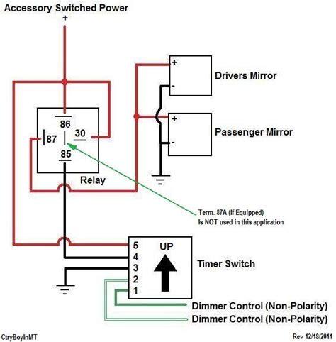 dodge mirror wiring diagram dodge automotive wiring diagram