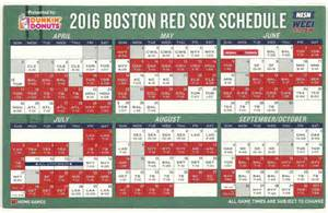 reds home schedule april 11 2016 boston sox magnet schedule