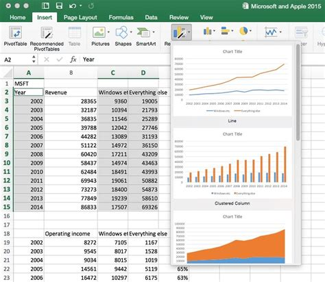 chart layout excel mac a closer look at office 2016 for the mac 8 page 8 zdnet