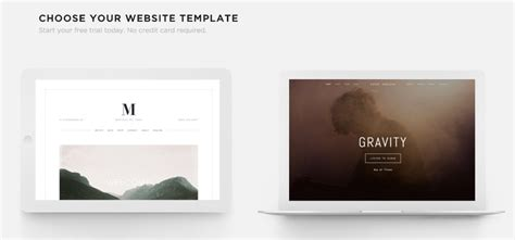 squarespace single page templates choosing the right template squarespace help