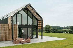 modern barn house old belgian barn is transformed into a gorgeous