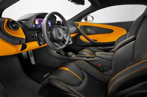 orange mclaren interior new mclaren 570s is britain s porsche 911 rival pictures