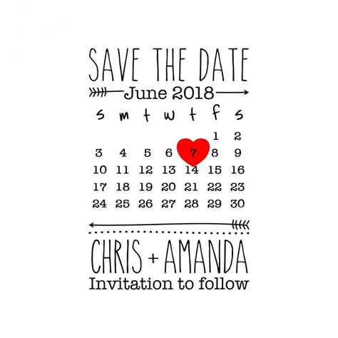 Custom Save The Date St Custom Rubber St Save The Date St Wedding St Save The Date Rubber St Template