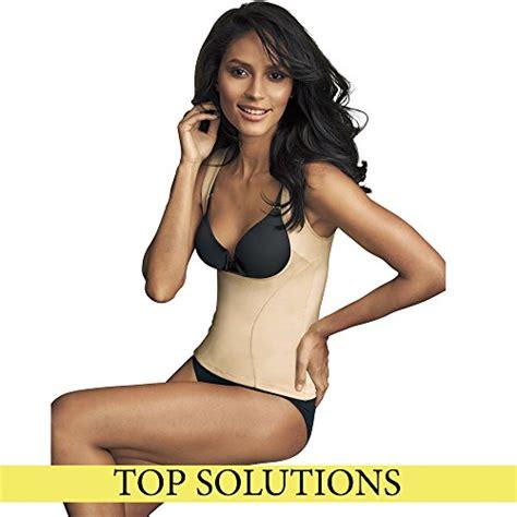 Bodysuit Flexees Beige By Maidenform maidenform flexees s shapewear wear your own bra