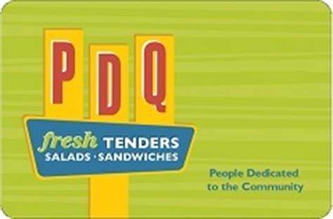 buy pdq restaurants gift cards at a 8 7 discount giftcardplace - Pdq Gift Card