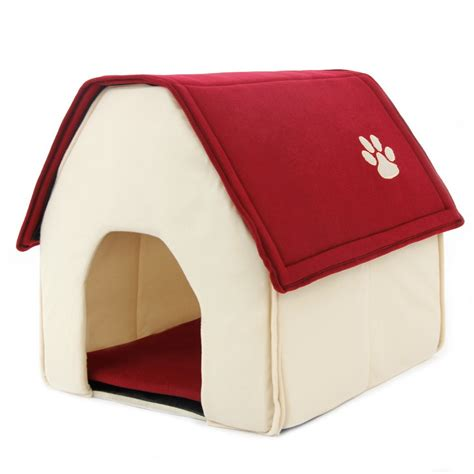 cute house dogs cute house shape dog bed pet bed warm soft dogs kennel dog house pet sleeping bag cat