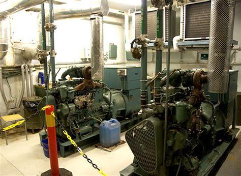 room generator diesel generator room coastal artillery fort femore northern fortress