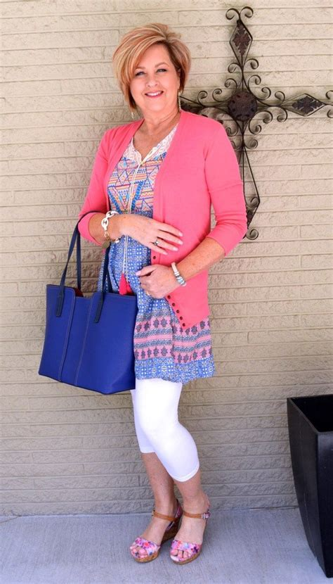 spring fashion 50 year old blue white and floral 50th floral and spring