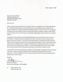 Formal Resignation Letter Email by Resignation Letter Formal Letter Sle Letter And Email Sleformal Letter Template Business