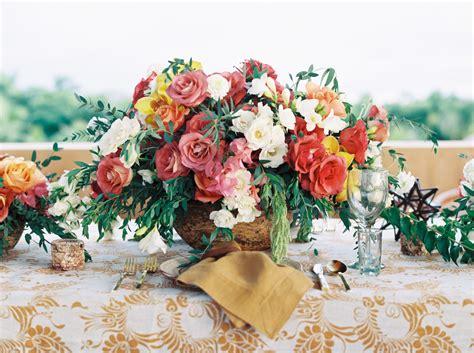 elena damy  mexican themed wedding centerpiece  love