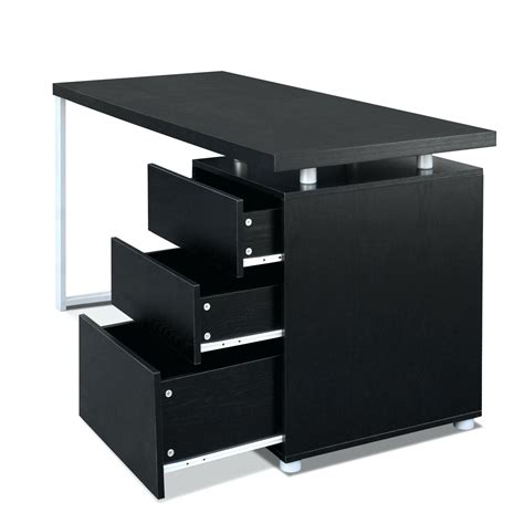 black writing desk with drawers awesome collection of black desk with drawers also winsome
