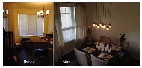 Transforming A Dining Room Into A Bedroom 3 Bedroom Townhouse Transformation Dining Room