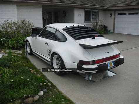 porsche slant nose 1986 porsche 911 turbo se related infomation