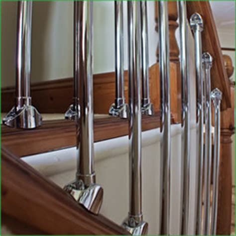 chrome banisters maintenance page peak projects