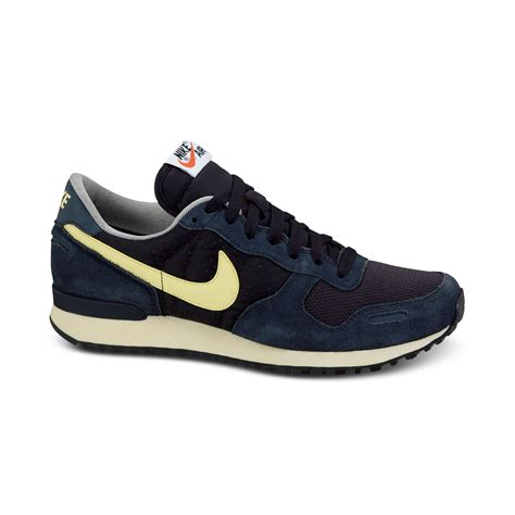 retro sneakers mens nike air vortex vintage sneakers in blue for lyst