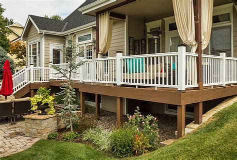 wraparound deck wrap around deck ideas