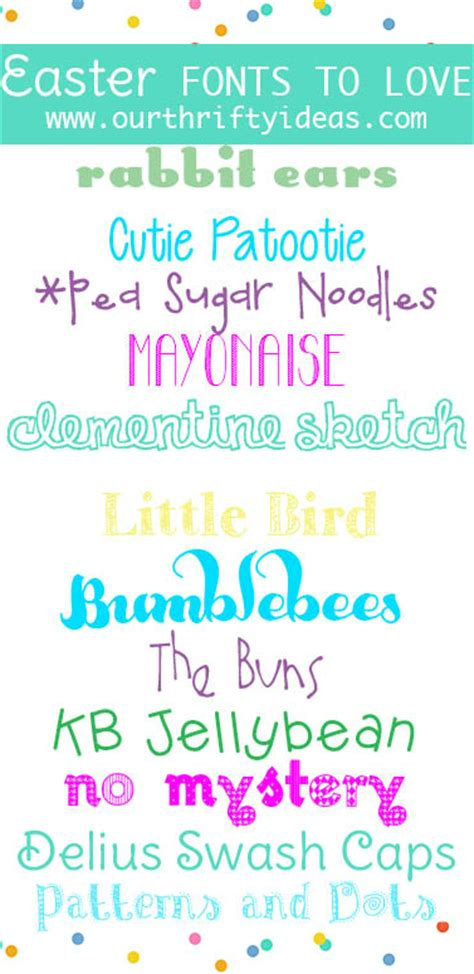 printable easter fonts free easter fonts our thrifty ideas