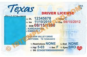 driver license template free florida drivers license template