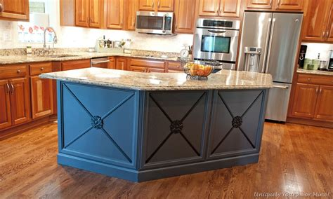 paint kitchen island gray painted kitchen island