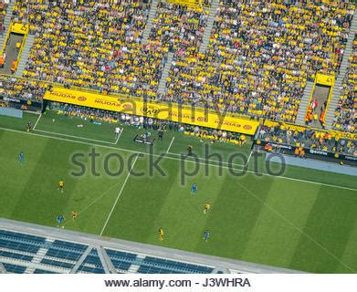 signal iduna bank aerial view bvb stadium signal iduna park at