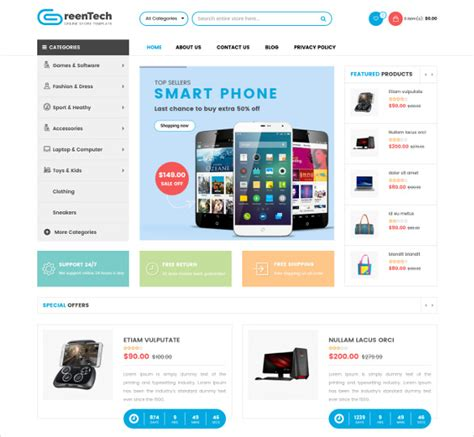 themes store ecommerce 38 new ecommerce themes templates released in january