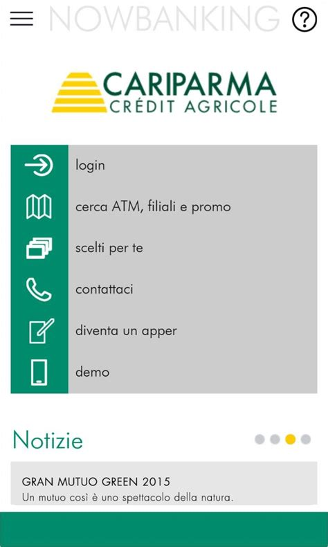 friuladria nowbanking privati nowbanking l app gruppo cariparma credit agricole