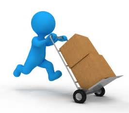 Who only work with the product after it is boxed up for delivery