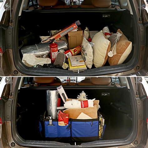 Megon Organizer Bagasi Mobil bagasi organizer tas penyimpanan barang di mobil agar bagasi tertata dengan rapi