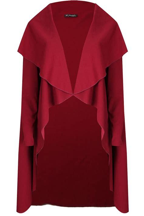 Atasan Cape Coat Clothing Sleeve Cape Coat 1 womens sleeve italian blazer waterfall open
