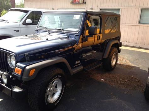 Dover Jeep Find Used 2006 Jeep Wrangler Unlimited Sport Utility 2