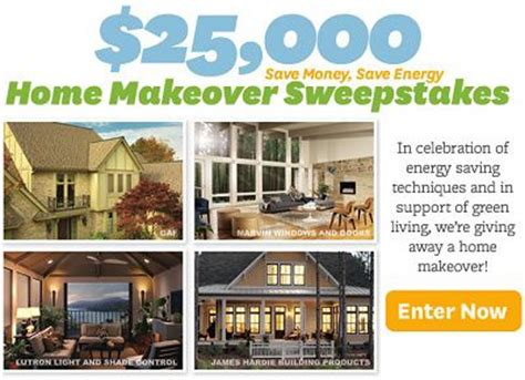 home makeover sweepstakes win 25 000 in bhg win home makeover sweepstakes sweepstakesbible