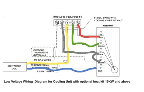 3 wire room thermostat wiring diagram 24 volt thermostat